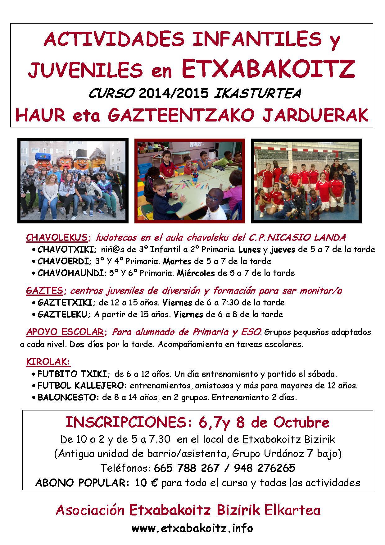 cartel curso 2014-15