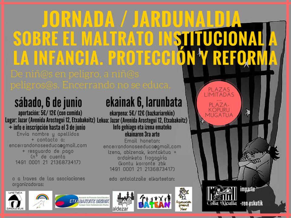 JORNADAS maltrato institucional ETX